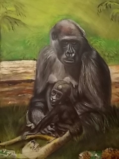 moedergorilla met jong5