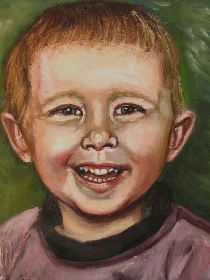 schilderij v dylan baby